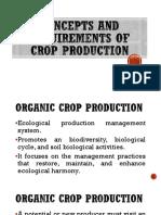 ORGANIC FARMING CONCEPTS