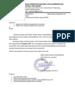 Contoh Surat Pemberitahuan Pelaksanaan Akreditasi