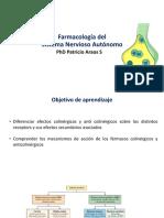 05 Farmacología Del Sistéma Nervioso Autónomo