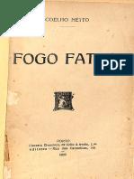 Henrique Maximiano Coelho Netto - Fogo Fatuo