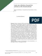 Foucault do estruturalismo ao pós estruturalismo.pdf