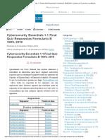 Cybersecurity Essentials 1.1 Prueba final Respuestas Formulario B 100% 2018 - Examen de TI premium y certificado.pdf