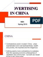 Session 3 & 4 Advertising in China