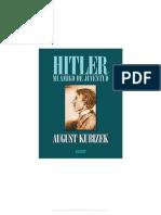 August Kubizek - Hitler mi Amigo de Juventud.pdf