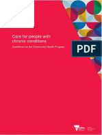 Care for People With Chronic Conditions Guide for Community Health Program