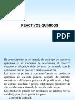 Reactivos Quimicos