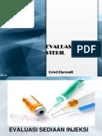 Ftss Evaluasi Sediaan Steril