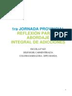 JORNADA DE ADICCIONES