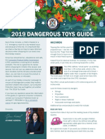 2019 Dangerous Toy Guide
