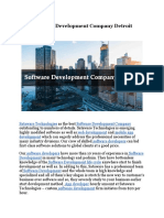 Software Development Company Detroit
