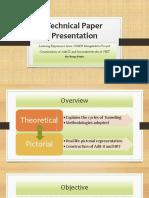 Paper Presentation - Chenga Penjor