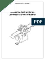 Manual Laminadora Semi-Ind