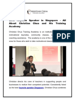 Best Keynote Speaker in Singapore - All About Christian Chua and His Training Academy-converted