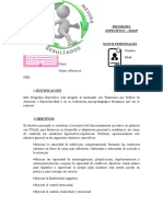 Modelo Programa Específico TDAH
