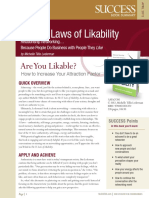 The 11 Laws of Likability Summary.pdf
