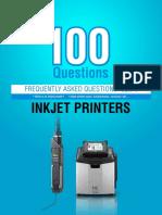 FAQ OF INKJET PRINTER