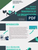 Medicion de Resultados y Rendimientos - Lean manufacturing.pptx