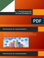 12. Planificacion y programacion de mantenimiento - Tema 12