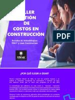 Brochure Gestión Costos
