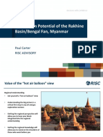 Geology of Rakhine basin