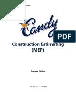 C205 - Candy Estimating - MEP - Rev 1.1 - 09-2011-GJ.docx