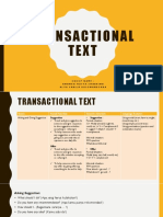 TM Transactional
