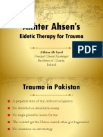 Eidetic Therapy for Trauma