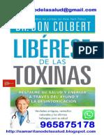 Cáncer - Libérese de las toxinas, células cancerígenas