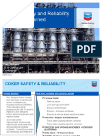 Coker Safety and Reliability Lessons Learned Wilborn Chevron DCU Galveston 2015