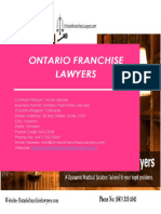 Hire a best franchise lawyer attorney