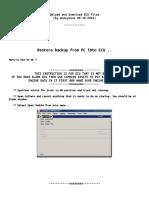 Caterpillar Migration kit flash files DPF removal
