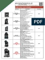 Vanting-2019-SUNRAY-catalog-with-price-list