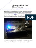 How to Download and Restore or Flash NodeMCU V3 Stock Firmware.docx