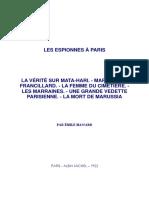 Espionnes Paris
