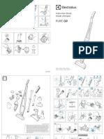 Manual Aspirator Vertical 2 in 1 Electrolux