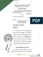Full Text of Special Court's Verdict in Musharraf Treason Case