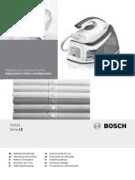 Bosch Steam Machine Manual