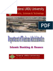 Isamic Banking & Finance Report Auto Saved)