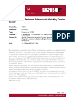 A Case Series of Peritoneal Tuberculosis Mimicking Ovarian Cancer