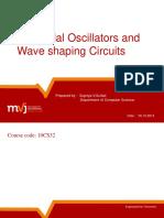 Electronic Circuits Unit 6