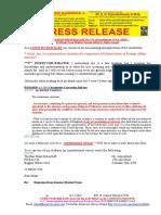 20191219-PRESS RELEASE Mr G. H. Schorel-Hlavka O.W.B. ISSUE - Re Marise Payne Foreign Affairs & Julian Assange