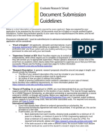 Guidelines scholarship