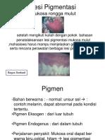 Lesi Pigmentasi Pada Mukosa Oral