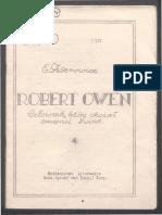 Robert Owen Czlowiek Ktory Chcial Zmienic Swiat