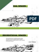 Recreational Spaces