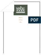 Whole foods case study questions
