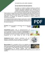 GLOSARIO DE ARQUITECTURA BIOCLIMATICA