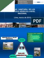 3.Calidad Sanitaria de Los r.h. a Nivel Nacional-digesa-Isaac Lavado