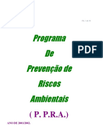 PPRA Frigorifico