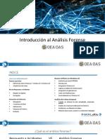 Introducción al Análisis Forense